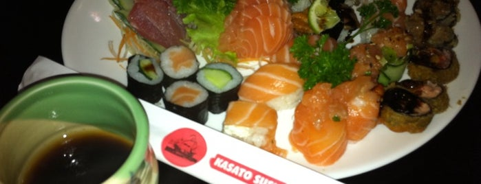 Kasato Sushi is one of Vamos comer em SP.