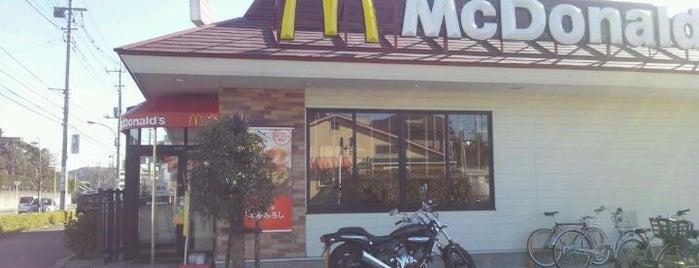McDonald's is one of はるひ野駅 | おきゃくやマップ.
