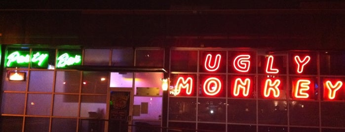 The Ugly Monkey Party Bar is one of Bars/venues.