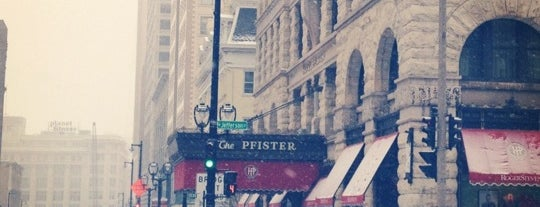 The Pfister Hotel is one of Milwaukee's Best Spots!.