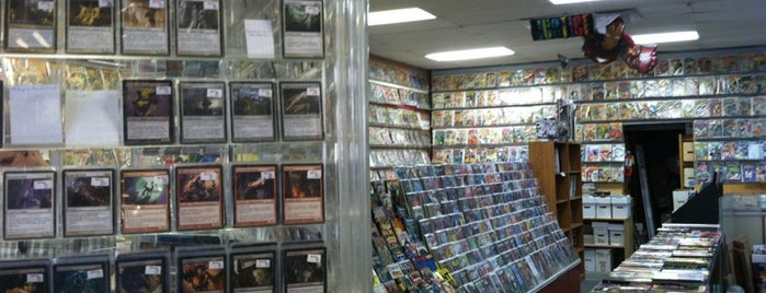 Mavericks Cards & Comics is one of Lieux sauvegardés par Andrew.