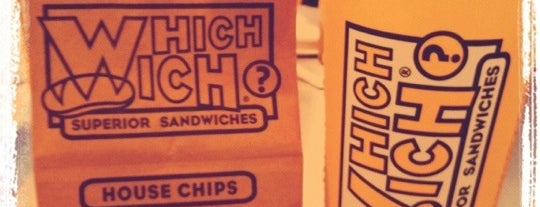 Which Wich? Superior Sandwiches is one of Mc Allen Must visit.