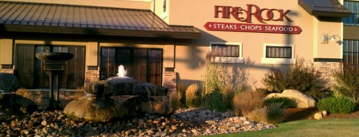 Firerock Steakhouse is one of Wyoming Culinary Digs.