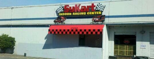 Sykart Indoor Racing Center is one of Lieux qui ont plu à Matt.