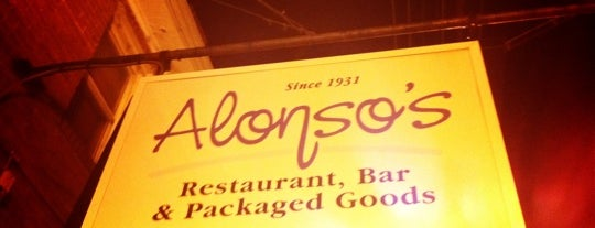 Alonso's is one of BeerGivr.com Establistments.