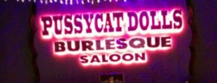 Pussycat Dolls Burlesque Saloon is one of #Vegas Badges.