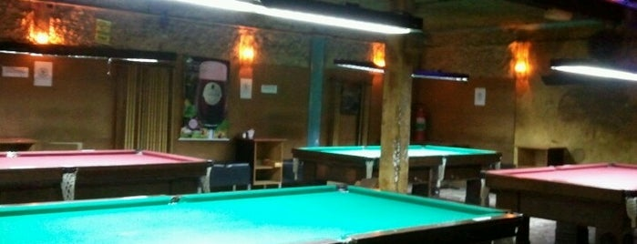 Gedas Snooker Bar is one of Locais salvos de Cledson #timbetalab SDV.