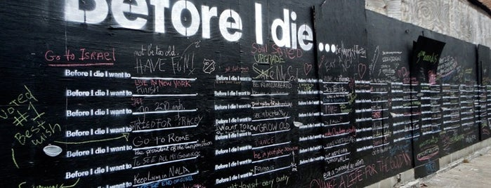 Before I Die Wall is one of United States.