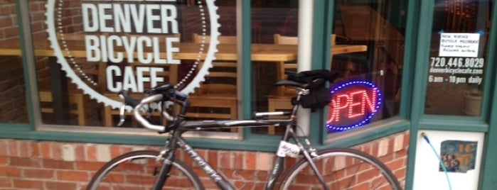 Denver Bicycle Cafe is one of Colorado.
