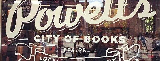 Powell's City of Books is one of Portland Faves.