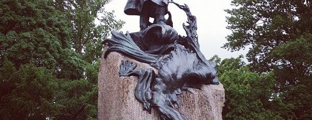 Памятник Адмиралу Макарову is one of Кронштадт.