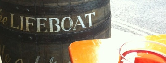 The Lifeboat is one of Margate.