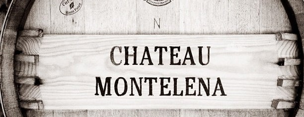 Chateau Montelena is one of Stevenson Favorite Wineries.