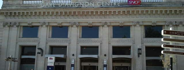 Gare SNCF d'Avignon-Centre is one of Went before.