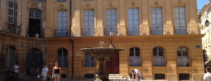 Place d'Albertas is one of Aix-en-provence, France.