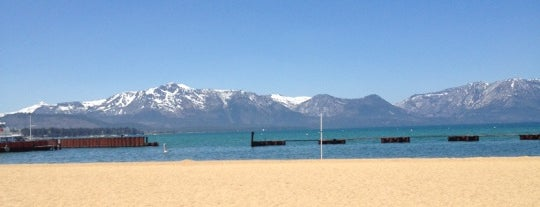 Lakeside Beach is one of Lake Tahoe.