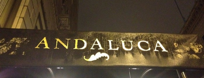 Andaluca Restaurant is one of 2012 MLA Seattle.