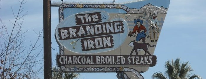 The Branding Iron Restaurant is one of Neon/Signs N. California 2.