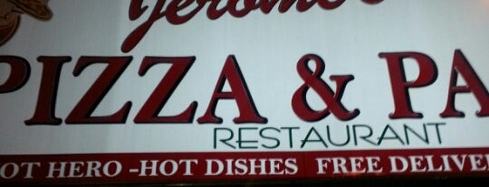 Jerome's Pizza is one of Posti che sono piaciuti a Cat.