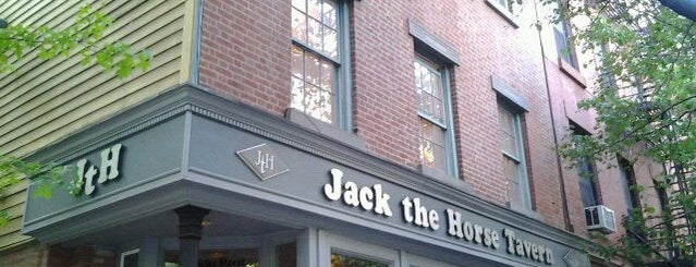 Jack the Horse Tavern is one of Locais salvos de Peter.