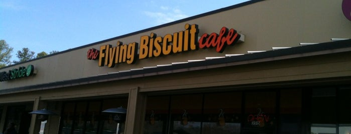 Flying Biscuit Cafe is one of Posti salvati di Remy.