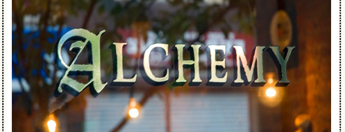 Alchemy Restaurant & Bar is one of [NY] Western/Fusion.