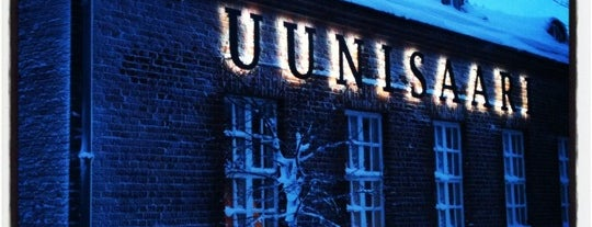 Ravintola Uunisaari is one of Locais curtidos por T..