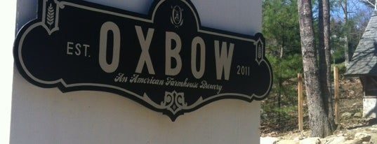 Oxbow Brewing Company is one of Maine.