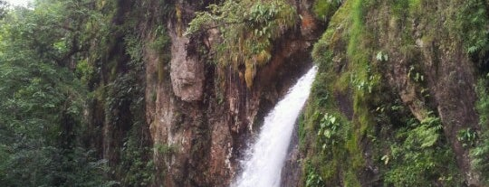 Cascada Las Brisas is one of Cuetzalan.