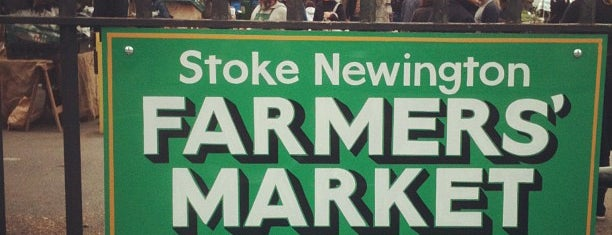 Stoke Newington Farmers' Market is one of crouch end.