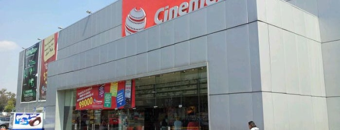 Cinemex is one of Locais curtidos por Carlos.