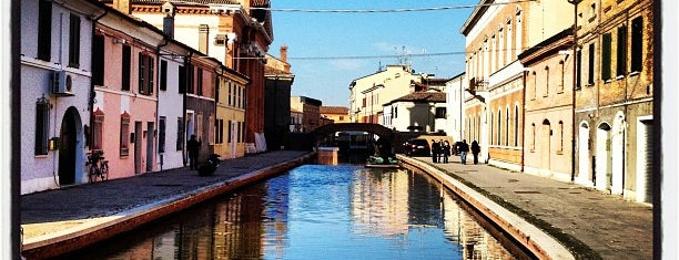 Comacchio is one of Ferrara x.
