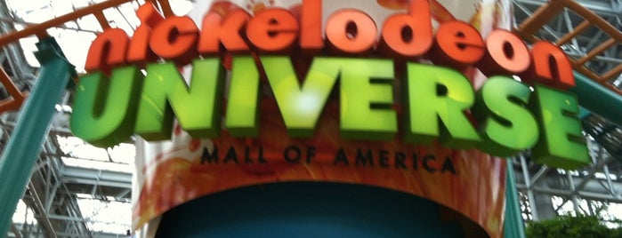 Nickelodeon Universe® is one of Favoritos.