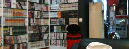 Manga Café is one of Les lieux geek de Paris.