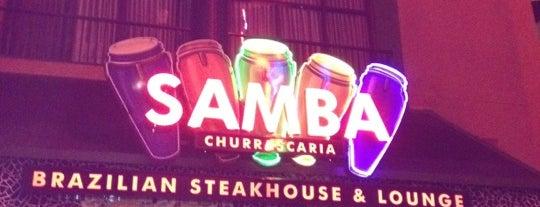 Samba Brazilian Steakhouse is one of Arnie 님이 저장한 장소.