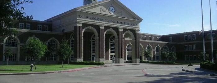 The Woodlands College Park High School is one of Orte, die Sonny gefallen.