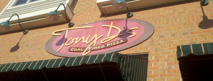 Tony D's Coal Fired Pizza is one of Must Eat Places.