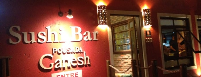 Ganesh Sushi Bar is one of Posti che sono piaciuti a Tassia.