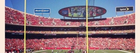 Arrowhead Stadium is one of Kansas City.