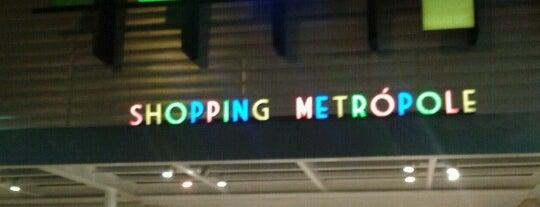 Shopping Metrópole is one of Ja fui e recomendo.