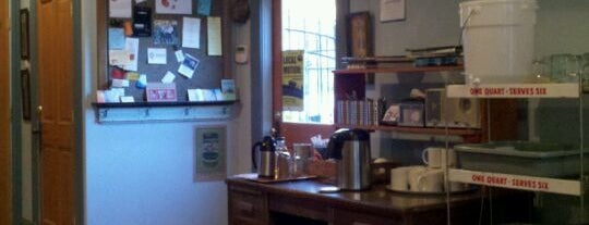 Oblique Coffee Roasters is one of Portlandia Pilgrimage.
