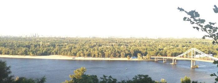 Володимирський узвіз is one of Kiev.