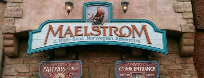 Maelstrom is one of ATS TRAVEL FL  EPCOT.