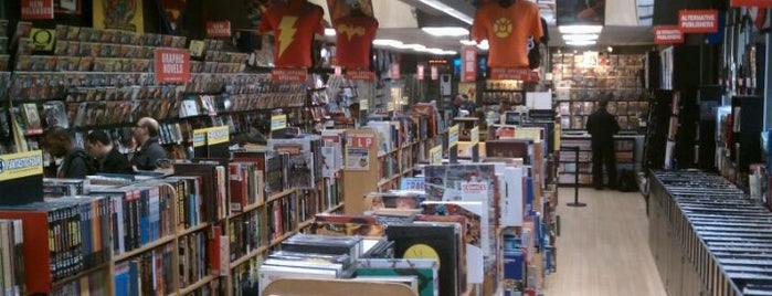 Midtown Comics is one of Nerdy and Artsy Places that Rock!.