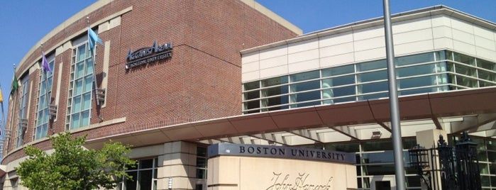 Boston University Fitness & Recreation Center is one of Food.