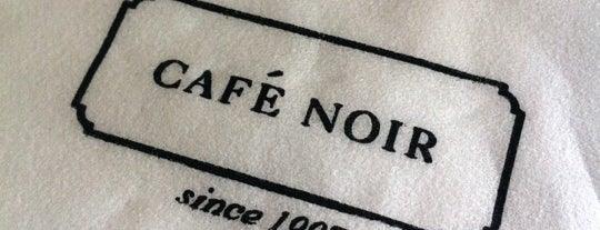 Café Noir is one of I heart Tel Aviv.