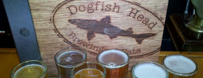 Dogfish Head Brewings & Eats is one of #TopVices: The Best Way to Indulge in Every State.