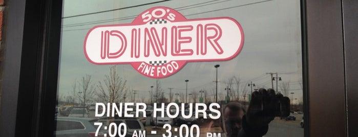 50's Diner is one of Locais salvos de James.