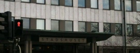 Stadshuset is one of Sweden 2017.