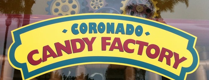 Coronado Candy Factory is one of Coronado Island (etc).